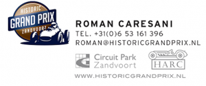 historische grand prix zandvoort logo