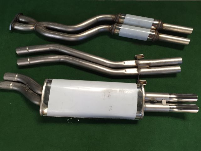 Group-A DTM exhaust 65mm