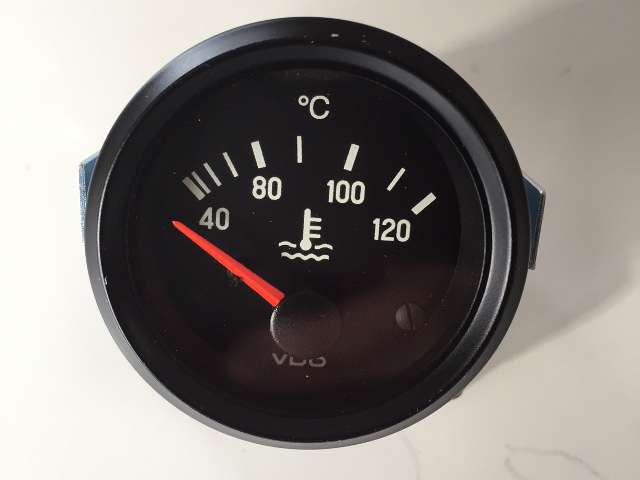 VDO coolant temperature gauge
