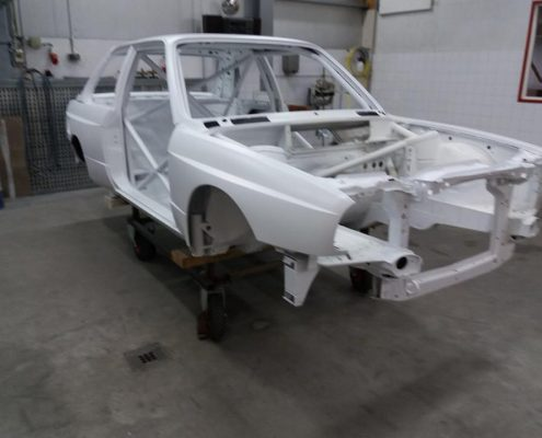 White BMW In our Workshop