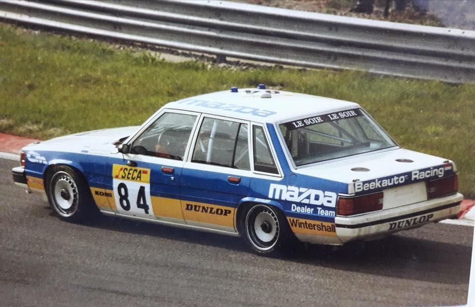 Mazda Garage Rotterdam : Mazda group a restoration vink motorsport