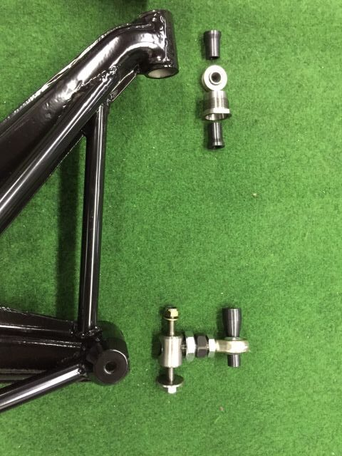 Reinforced Adjustable Rear Trailing Arms
