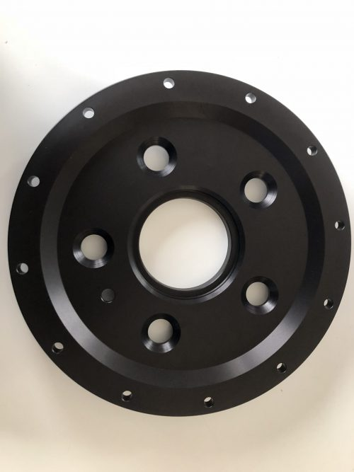 Mounting bell for Alcon front disk
