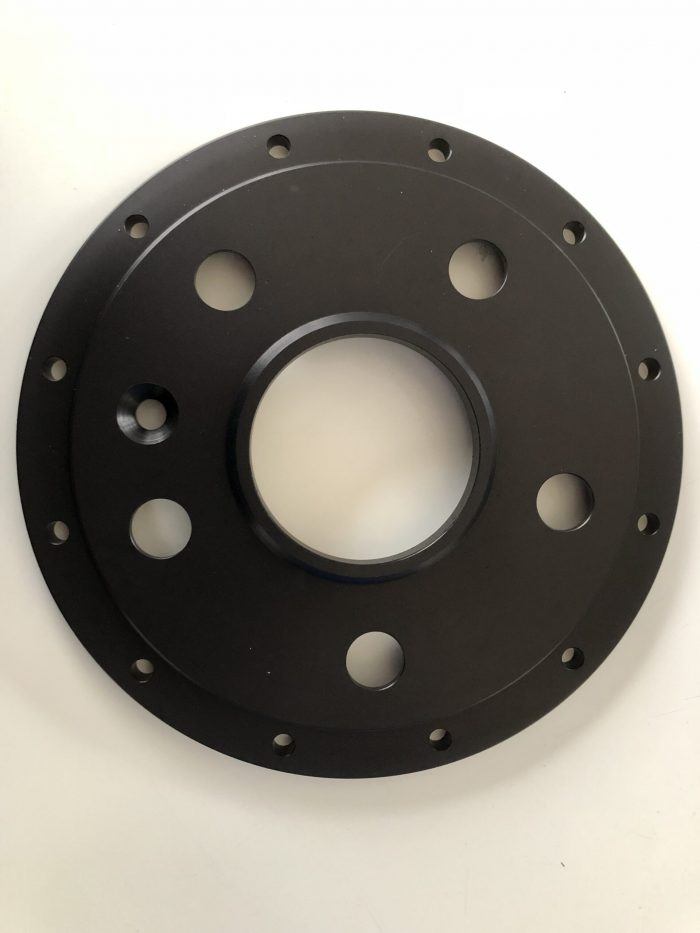 Mounting bell for Alcon rear disc